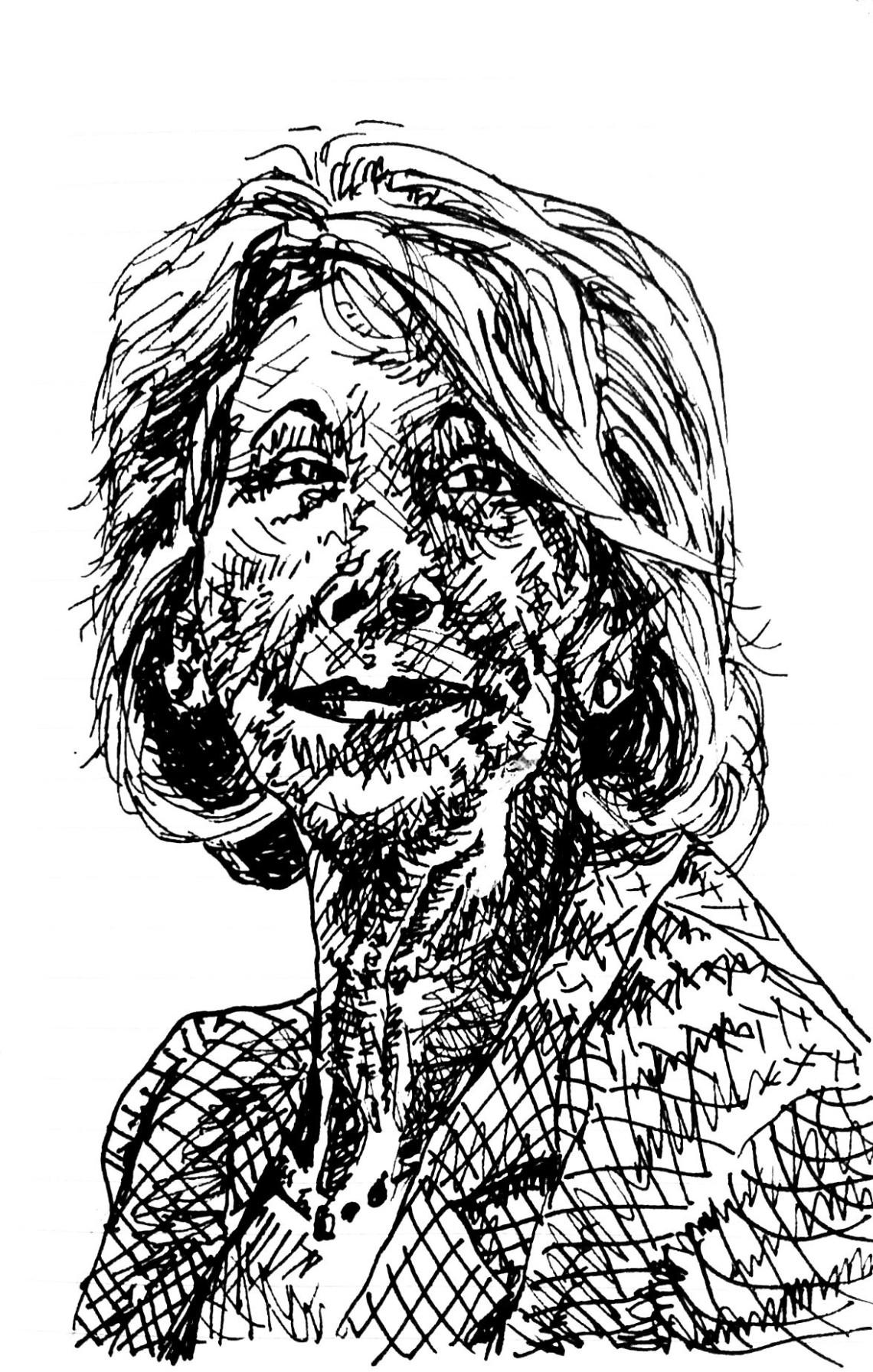 Betsy DeVos illustration