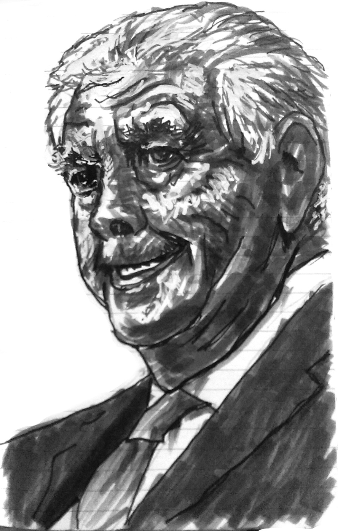 Rex Tillerson illustration