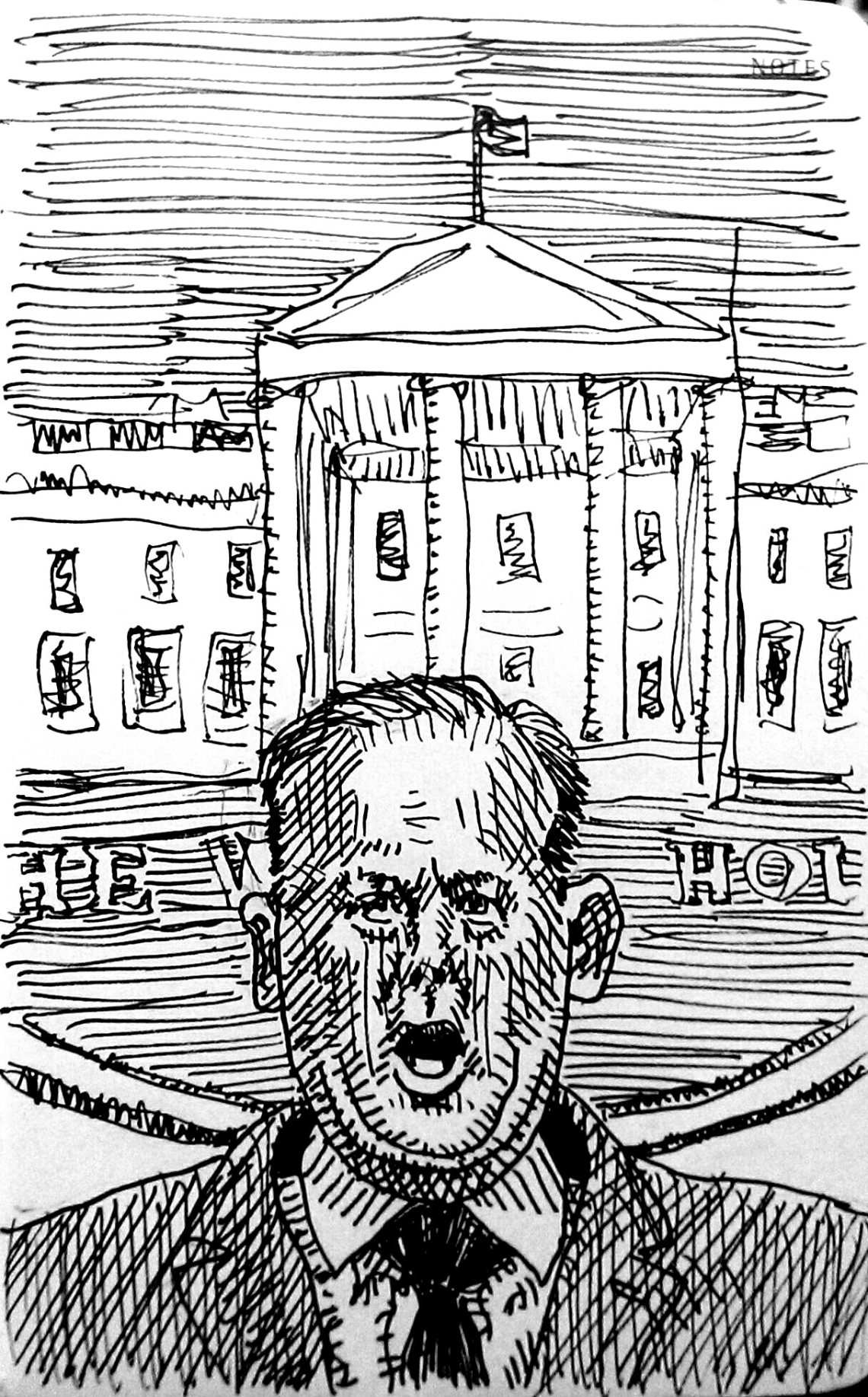 Sean Spicer illustration