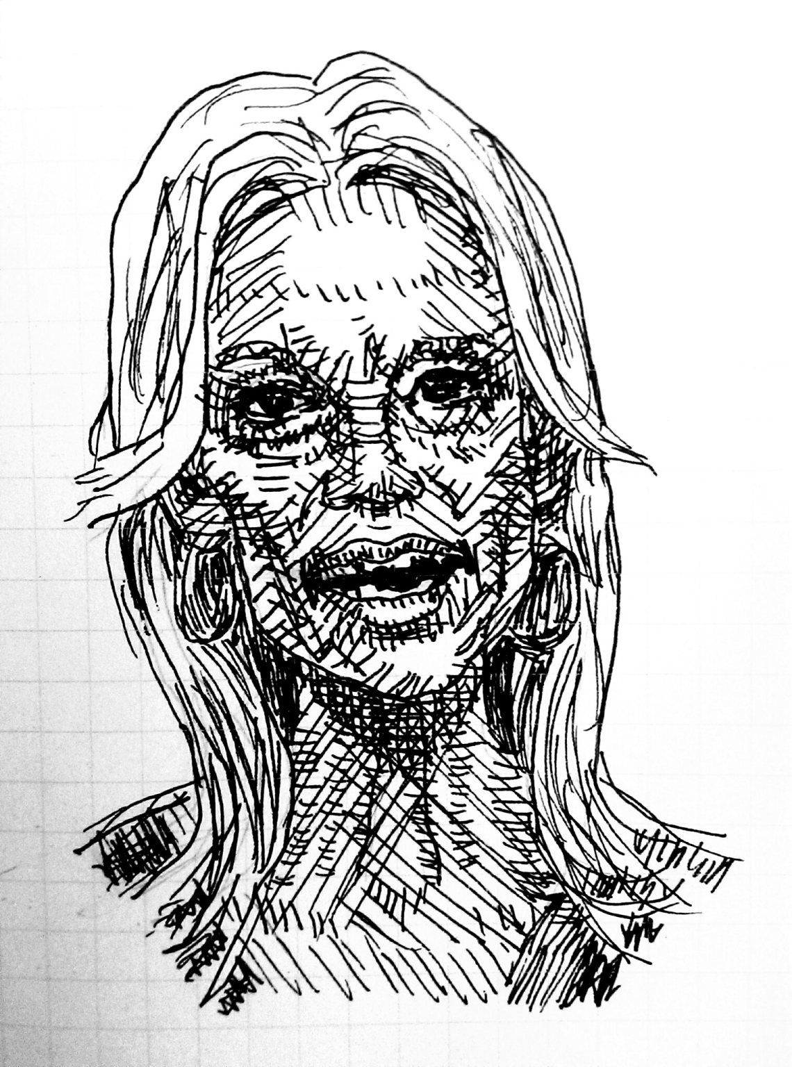 Kellyanne Conway illustration