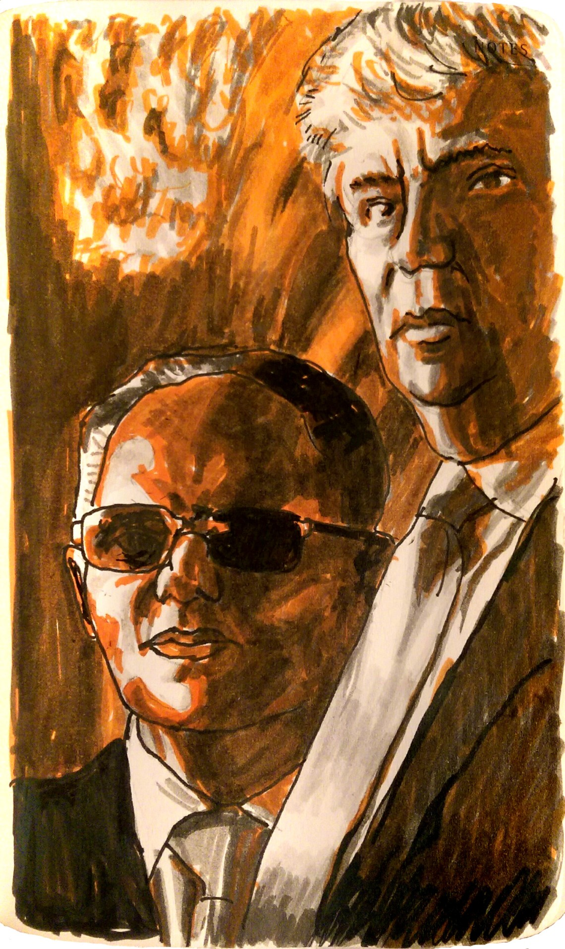 Ike Perlmutter illustration