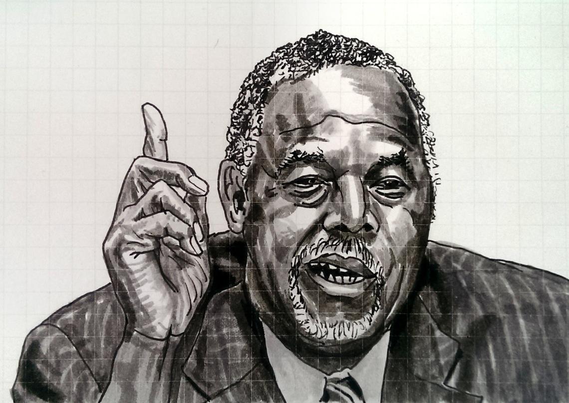 Ben Carson illustration