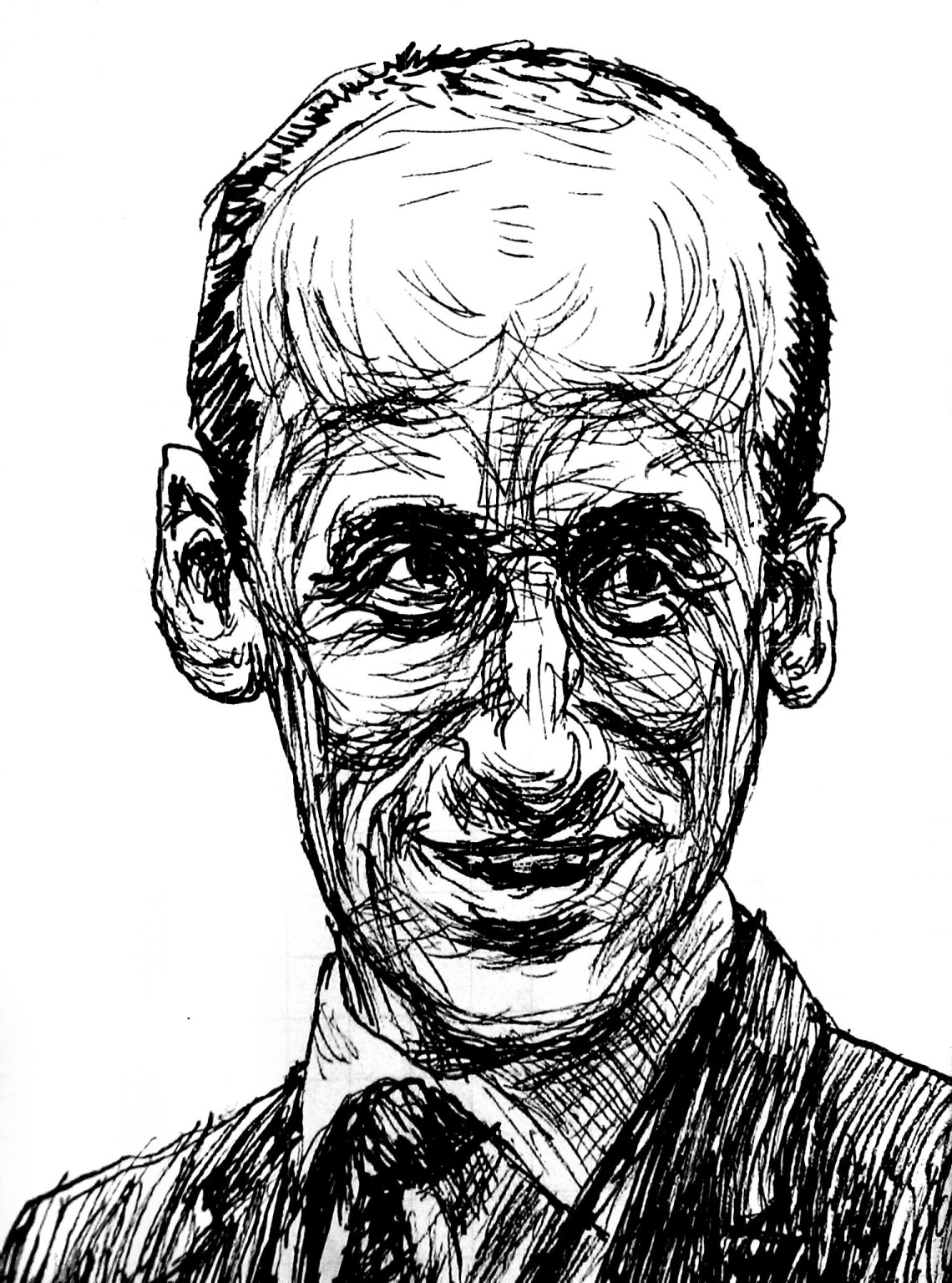 Stephen Miller illustration