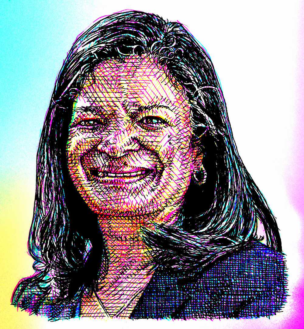 Pramila Jayapal illustration